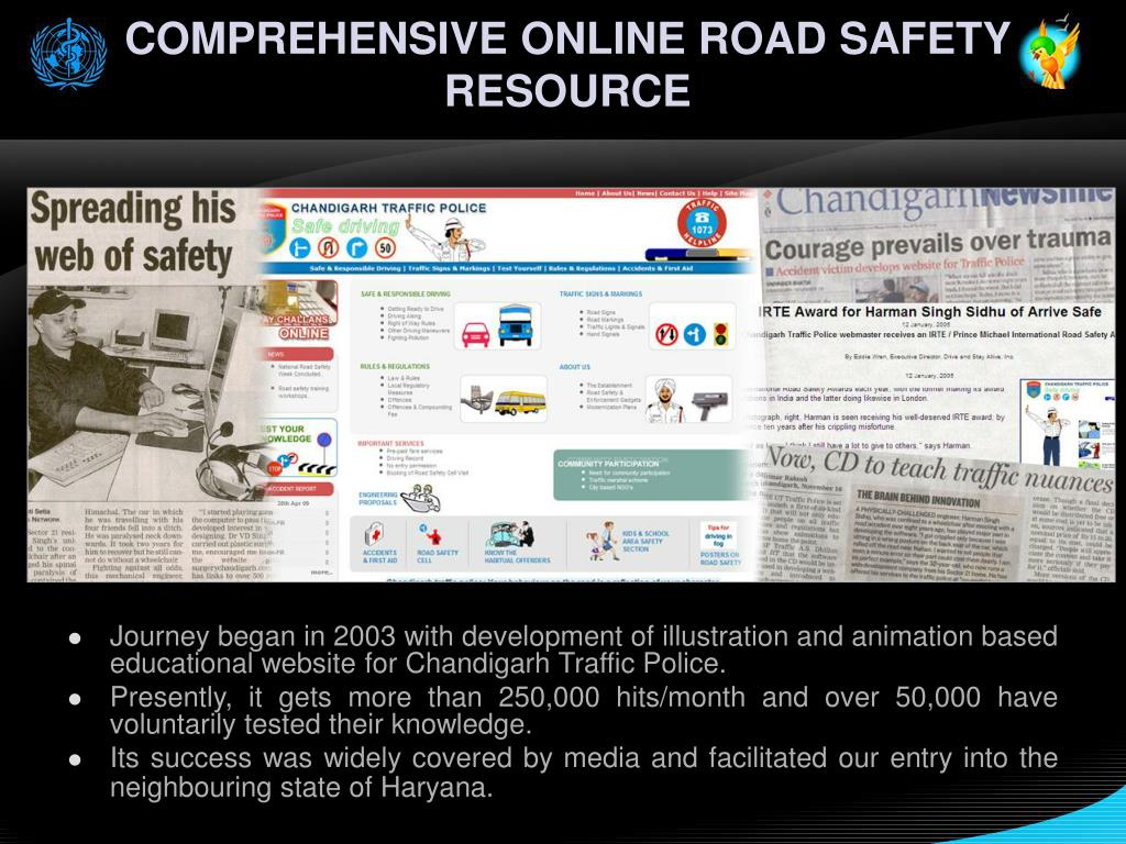 COMPREHENSIVE ONLINE ROAD SAFETY RESOURCE