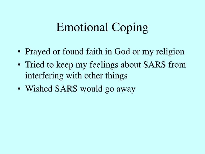 Emotional Coping