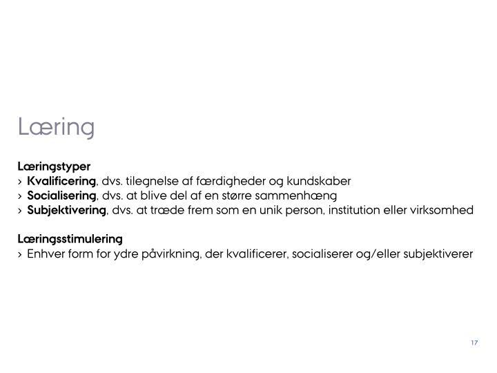 Læring