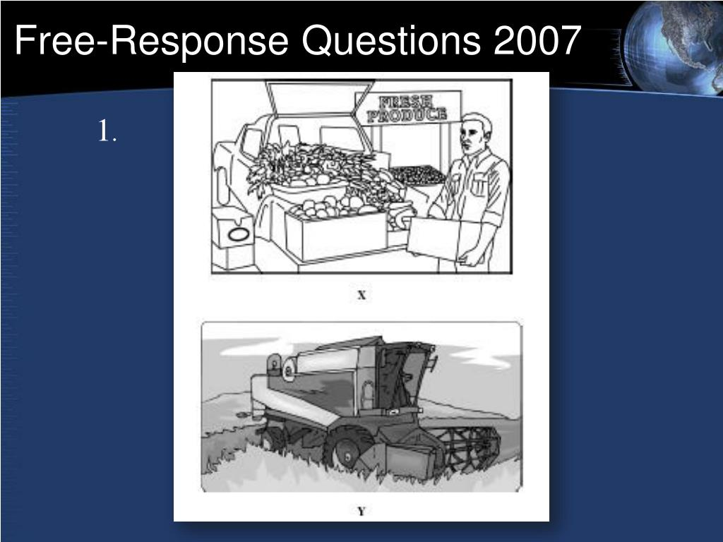 Free-Response Questions 2007