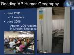 reading ap human geography