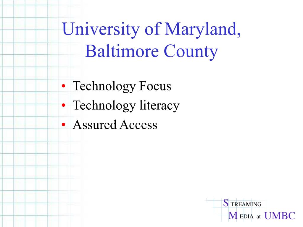 University of Maryland, Baltimore County