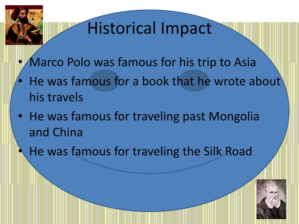 Historical Impact