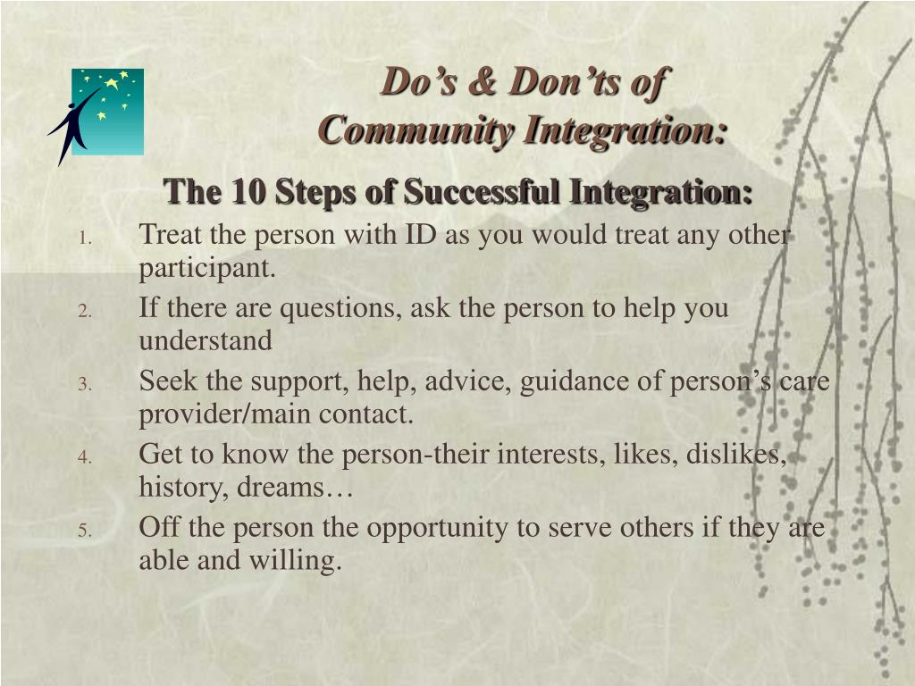 Do's & Don'ts of