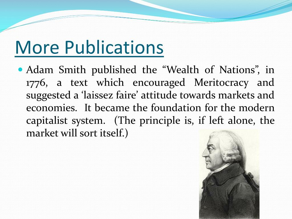 adam smith capitalism essays Adam smith and karl marx economic theories this essay examines smith's understanding of in the wealth of nations smith established a pure view of capitalism.
