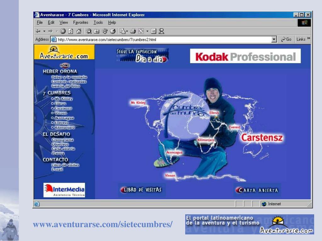 www.aventurarse.com/sietecumbres/