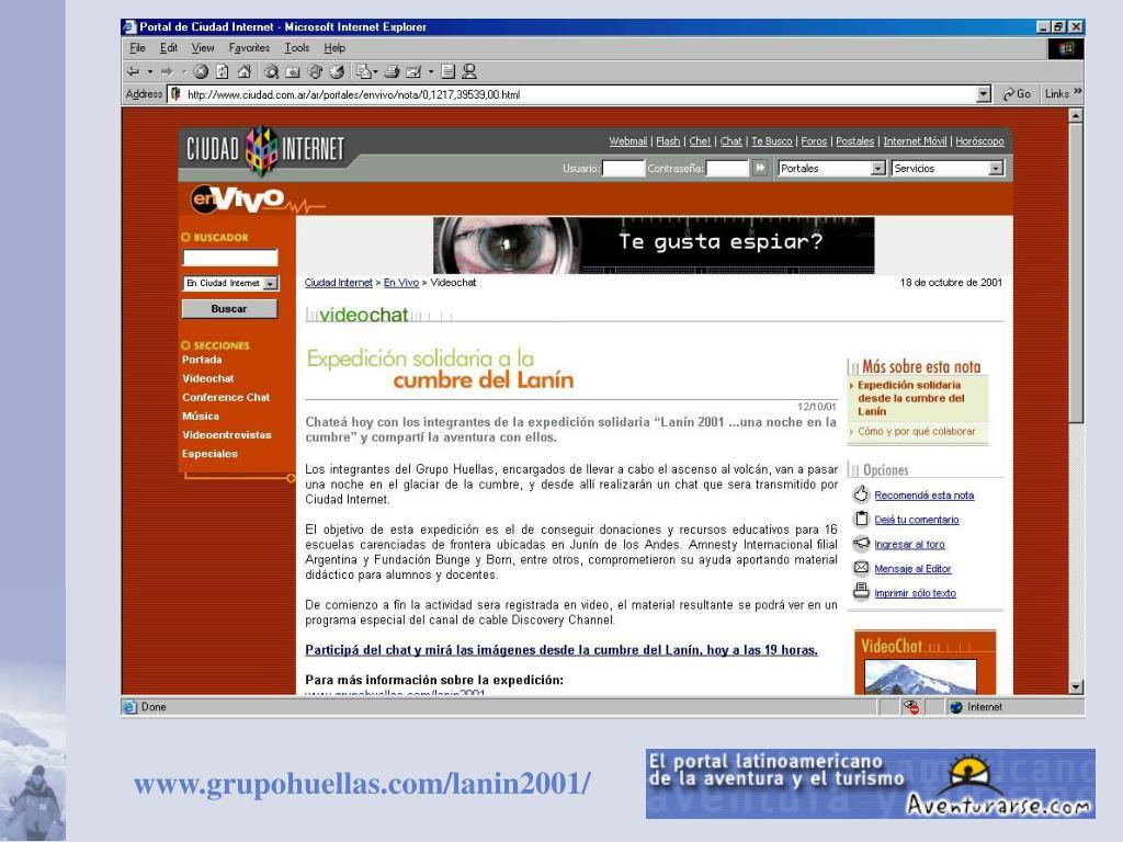 www.grupohuellas.com/lanin2001/