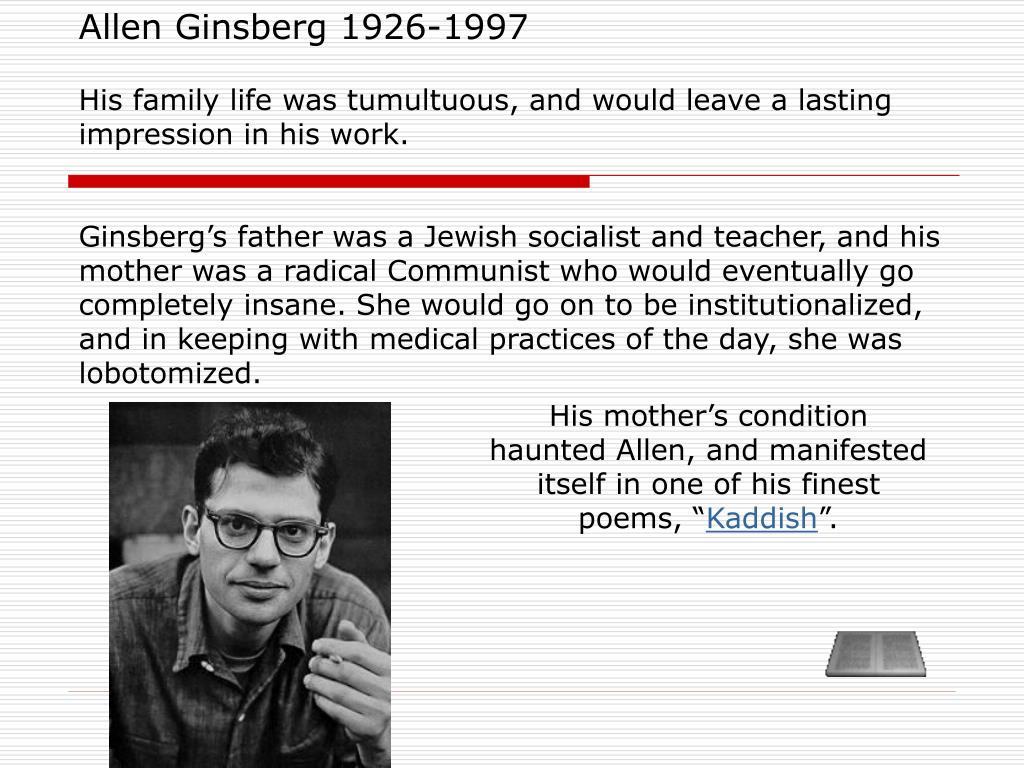 Allen Ginsberg 1926-1997
