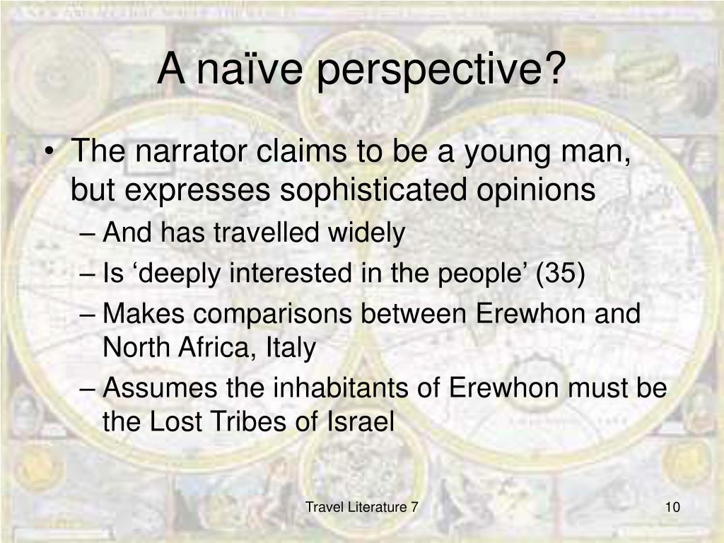 A naïve perspective?