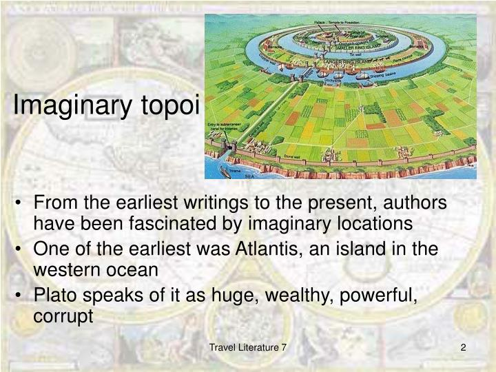 Imaginary topoi