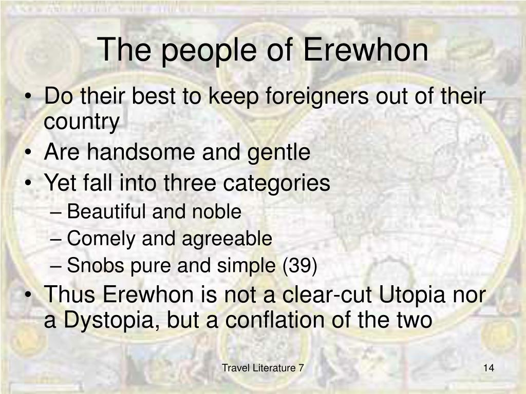 The people of Erewhon