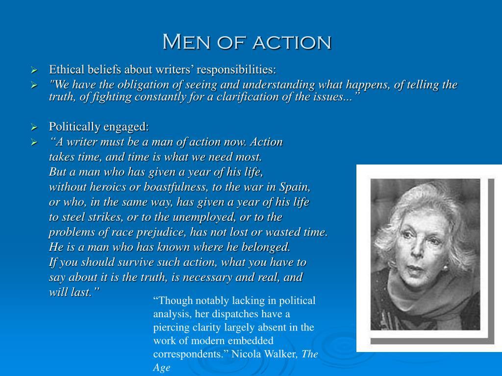 Men of action