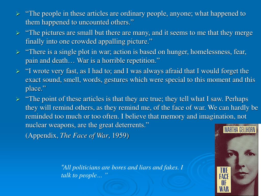 """""""The people in these articles are ordinary people, anyone; what happened to them happened to uncounted others."""""""