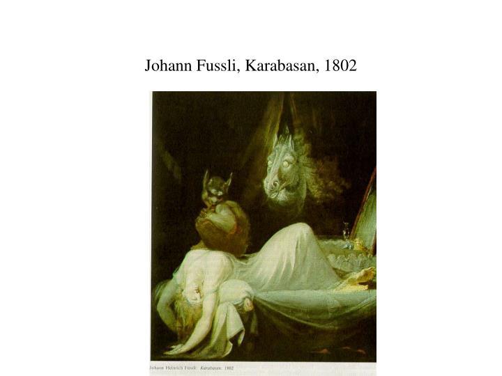 Johann Fussli, Karabasan, 1802