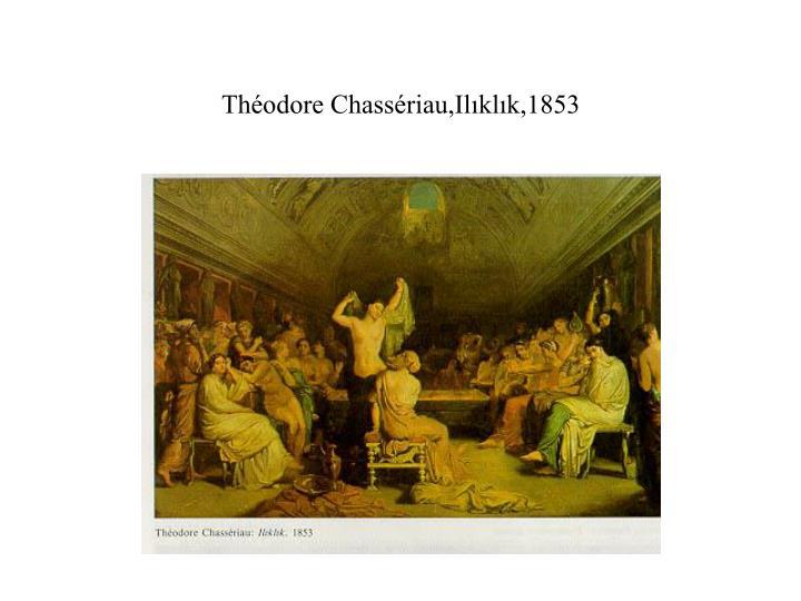 Théodore Chassériau,Ilıklık,1853