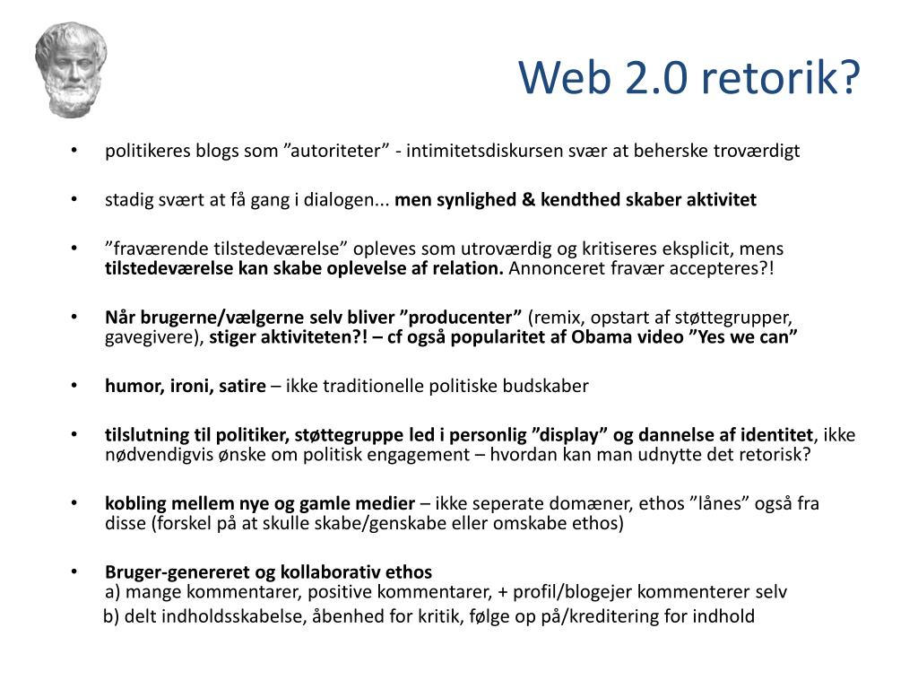 Web 2.0 retorik?