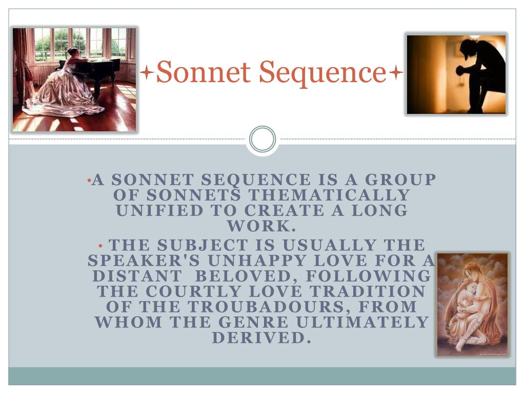 Sonnet Sequence