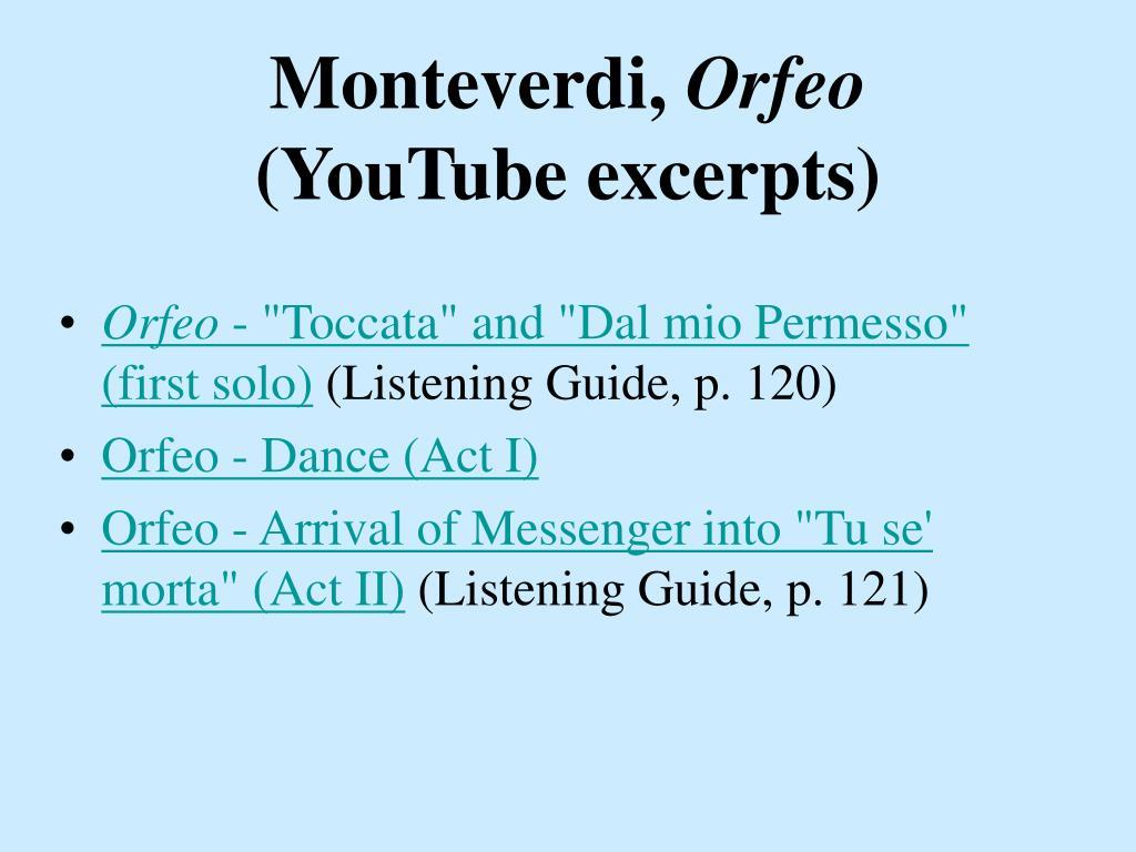 Monteverdi,