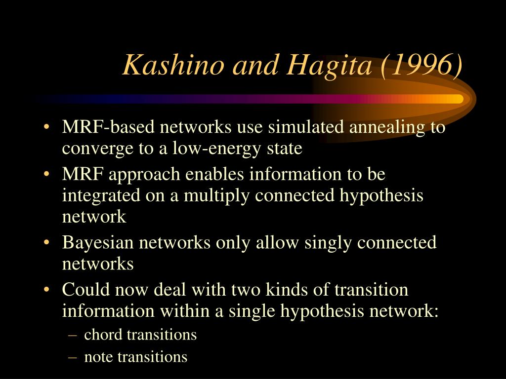 Kashino and Hagita (1996)