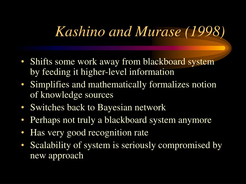 Kashino and Murase (1998)