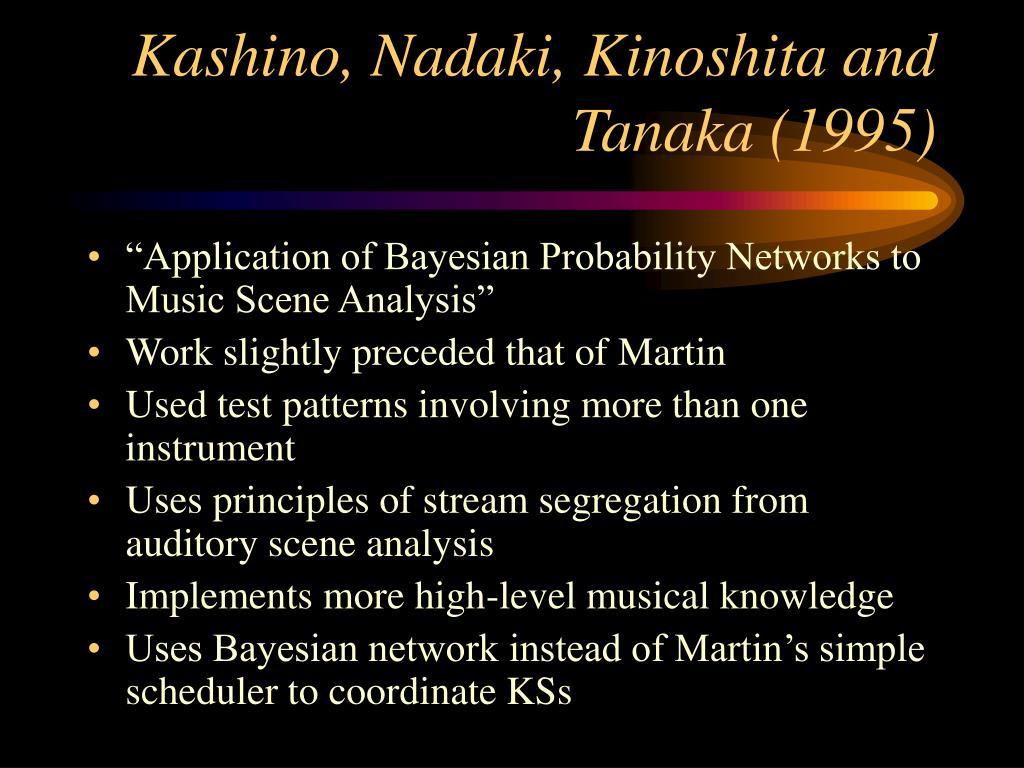 Kashino, Nadaki, Kinoshita and Tanaka (1995)