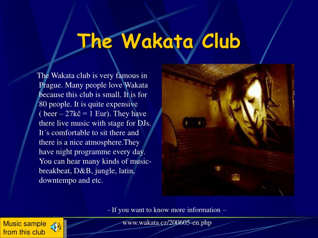 The Wakata Club
