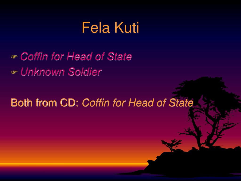 Fela Kuti
