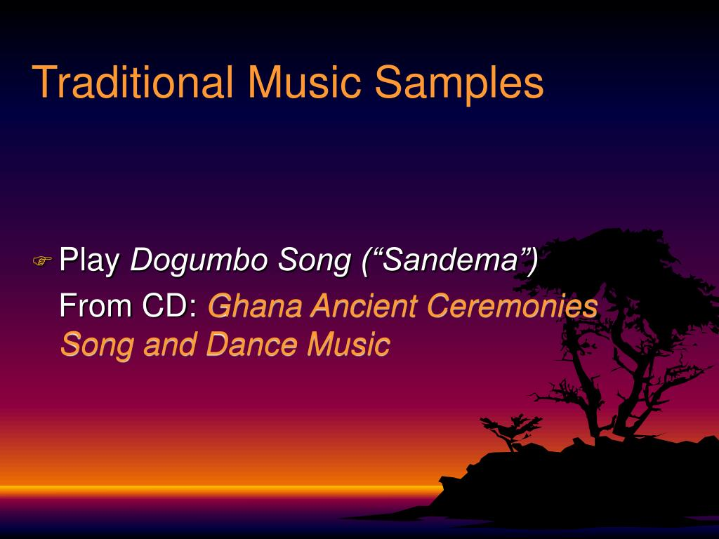 Traditional Music Samples