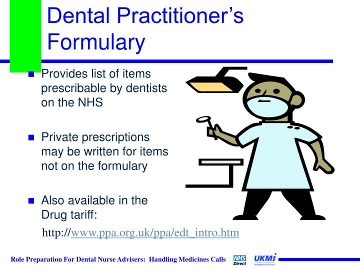 Dental Practitioner's Formulary