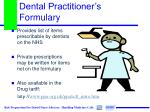 dental practitioner s formulary