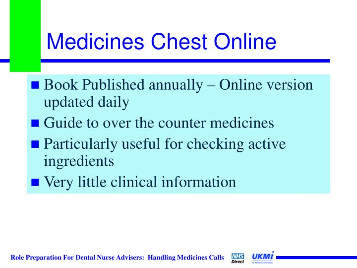 Medicines Chest Online