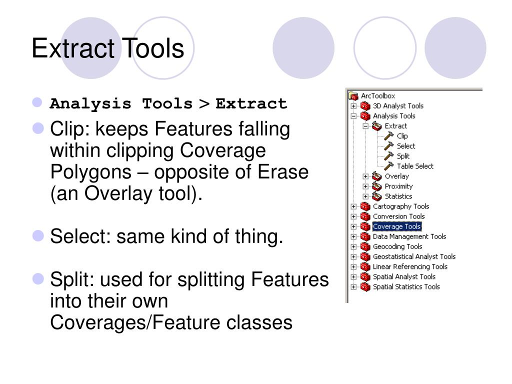 Extract Tools