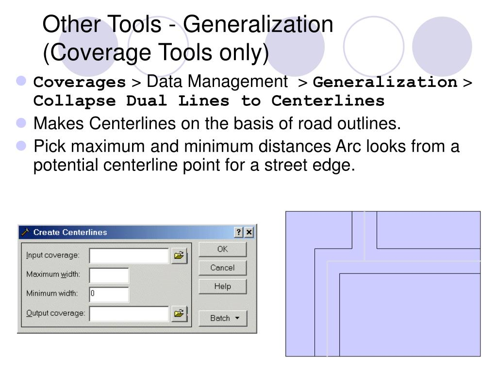 Other Tools - Generalization