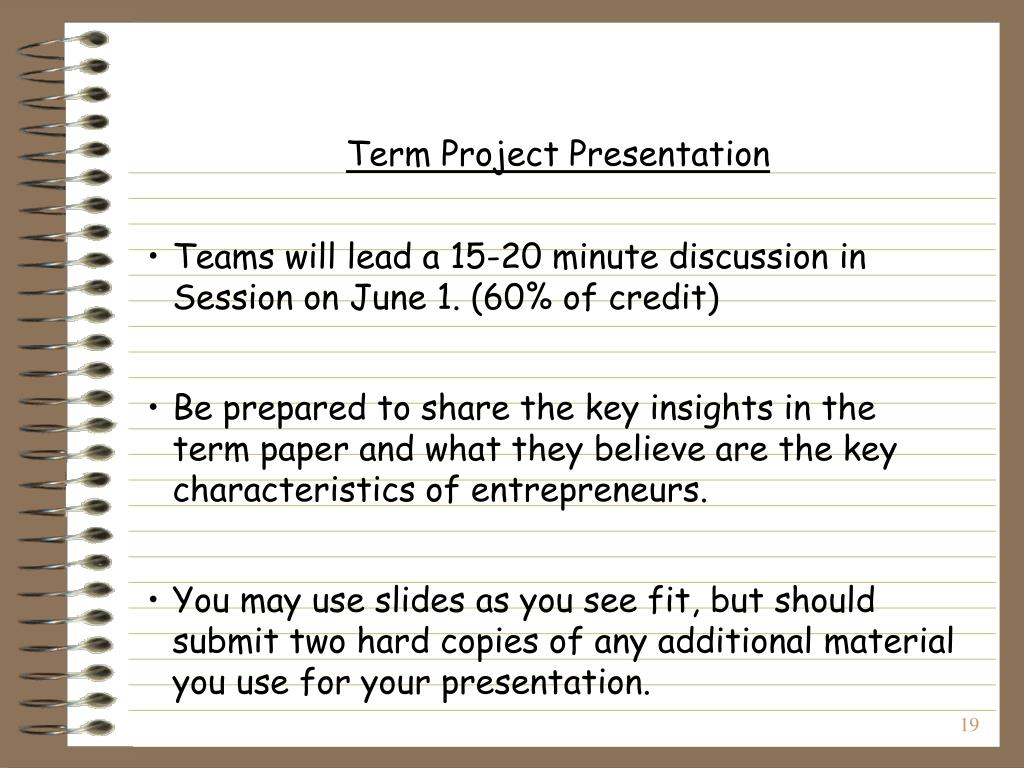 Term Project Presentation