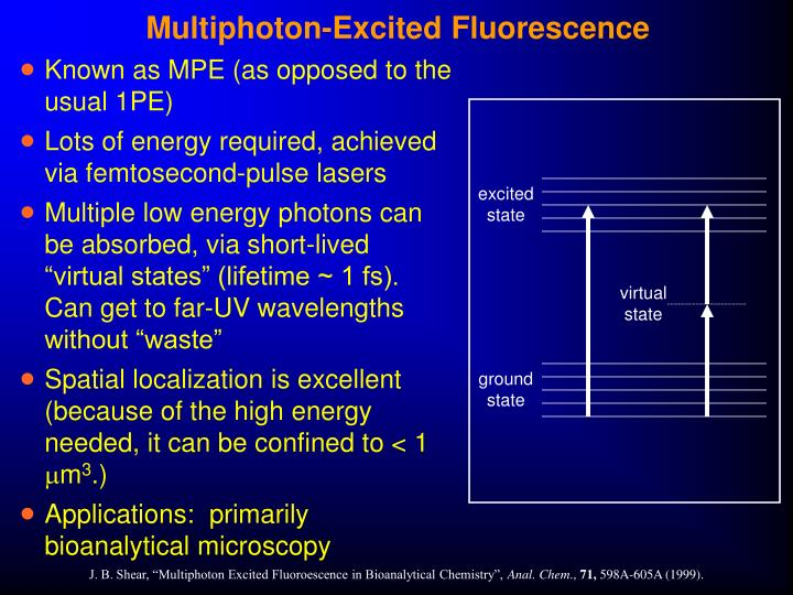 Multiphoton-Excited Fluorescence