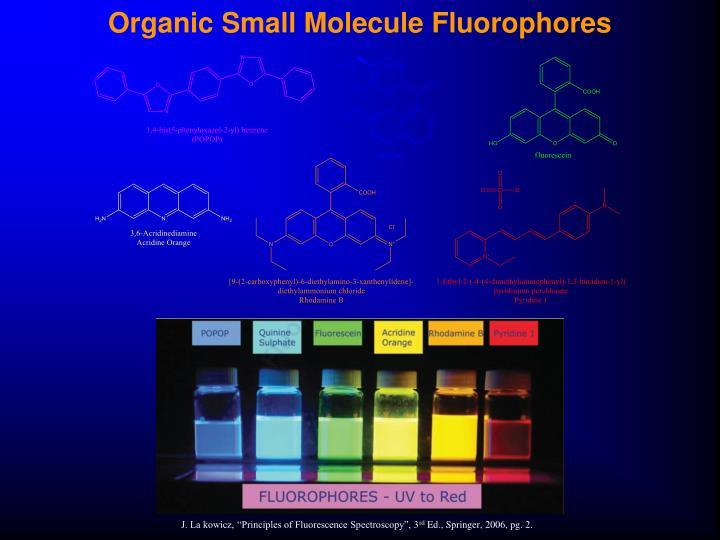 Organic Small Molecule Fluorophores