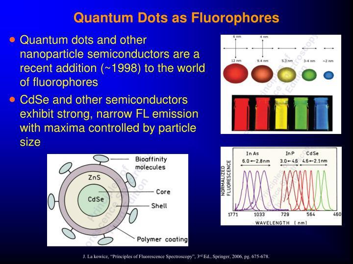 Quantum Dots as Fluorophores