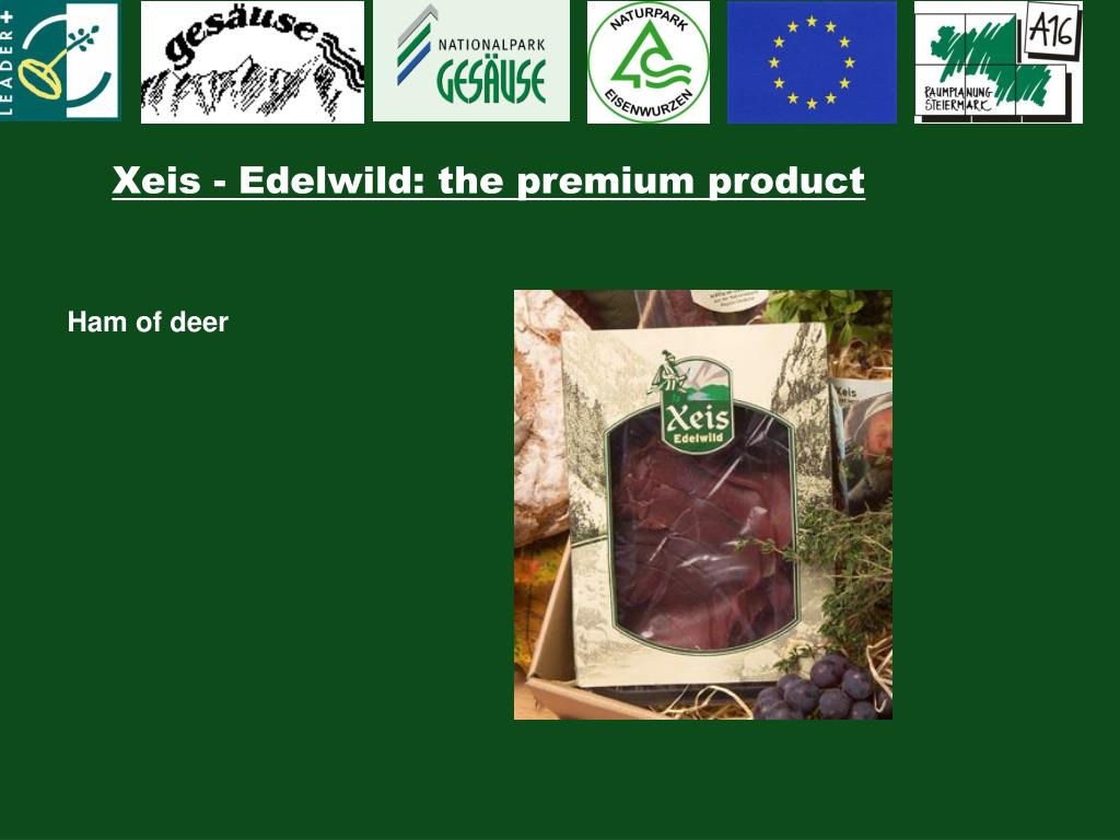 Xeis - Edelwild: the premium product