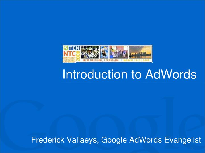 Introduction to adwords l.jpg