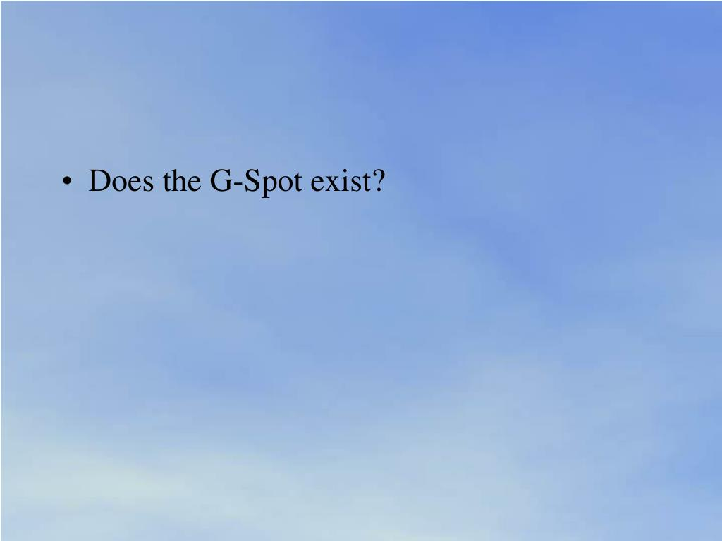 Does the G-Spot exist?