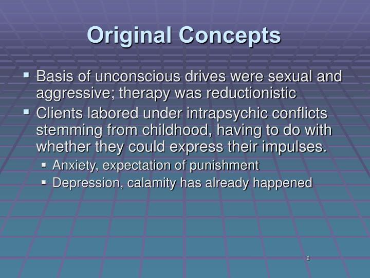 psychodynamic family therapy Psychodynamically oriented family therapy emphasizes unconscious processes (such as the projection of unacceptable personality traits onto another family member) and unresolved conflicts in the parents' families of origin the lasting effects of such traumatic experiences as parental divorce and child abuse are explored.