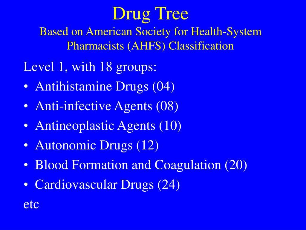Drug Tree