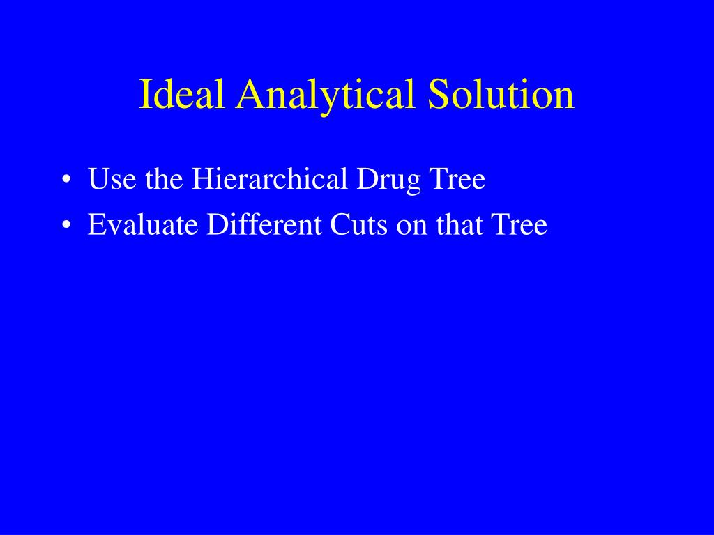 Ideal Analytical Solution