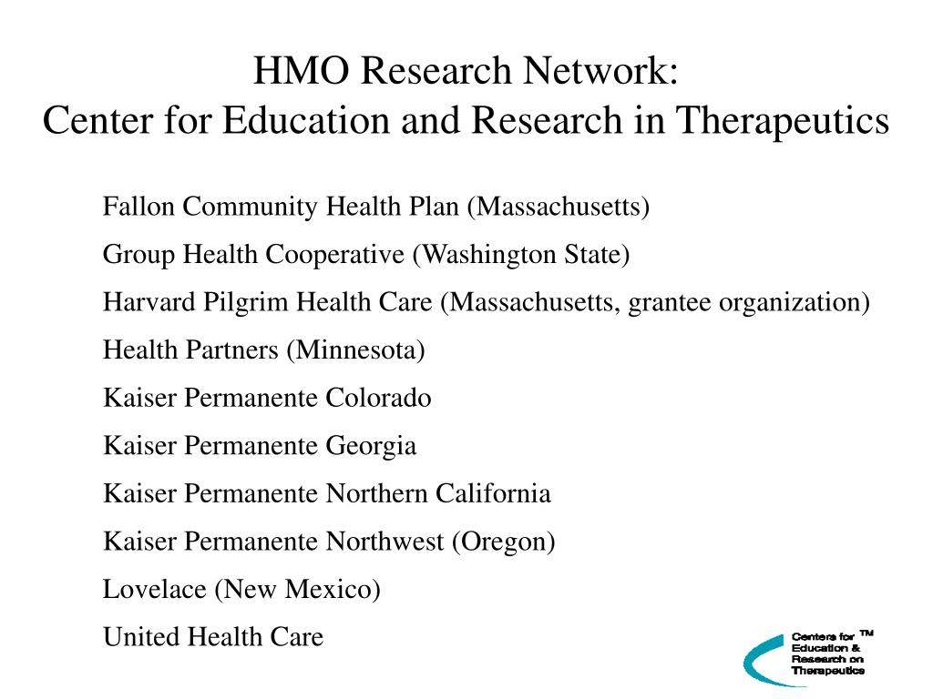 HMO Research Network: