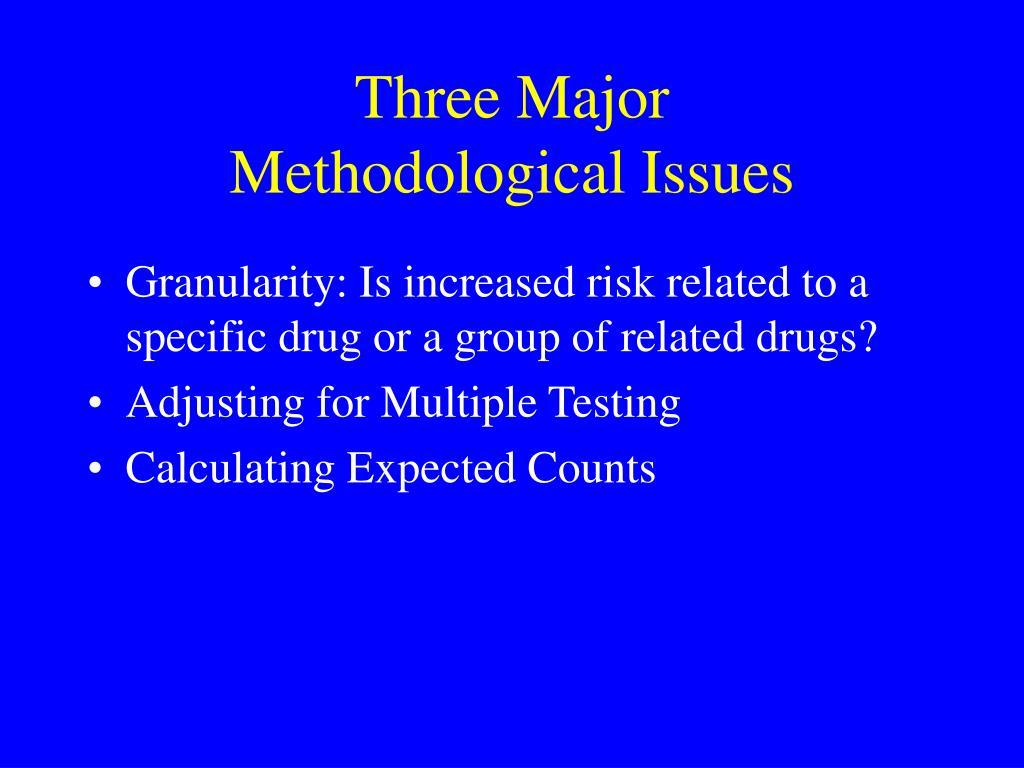 Three Major