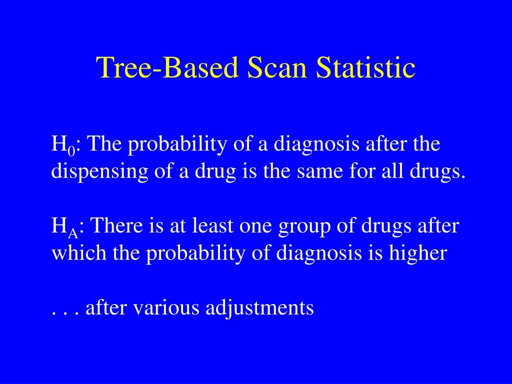 Tree-Based Scan Statistic