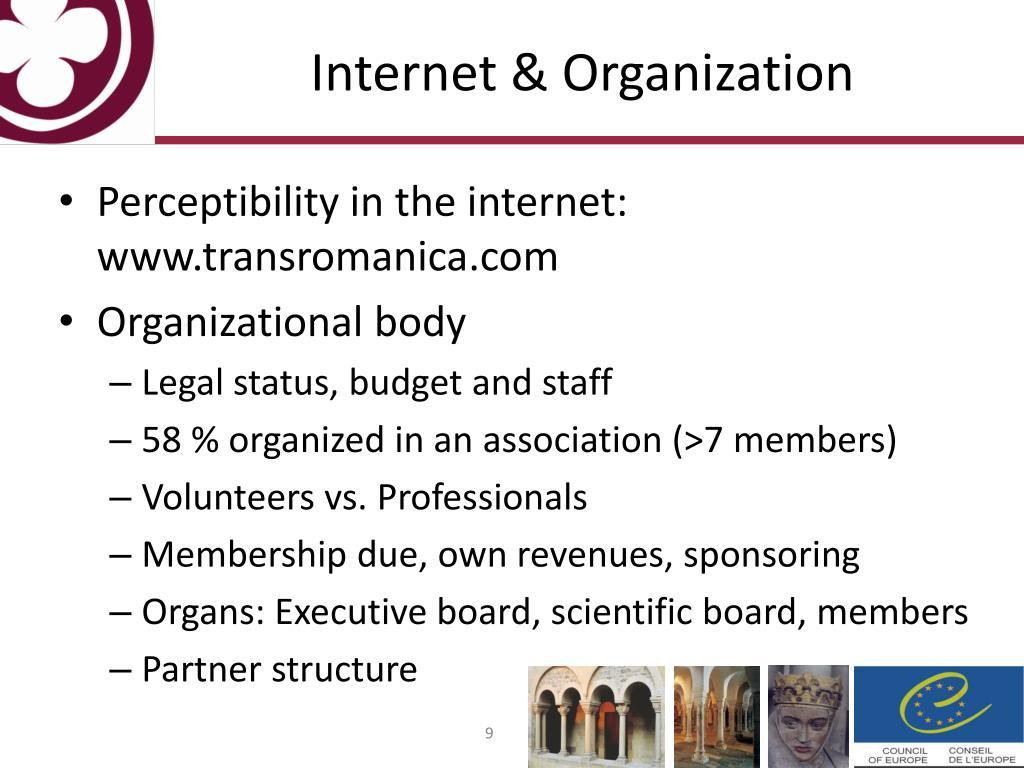 Internet & Organization