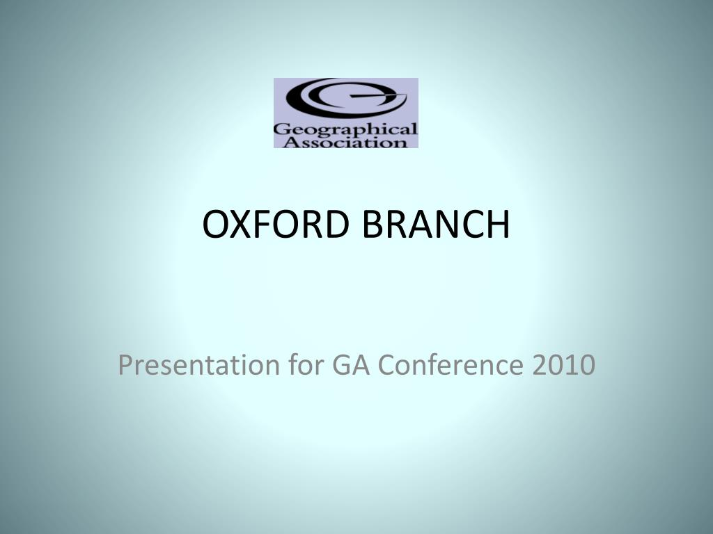 OXFORD BRANCH