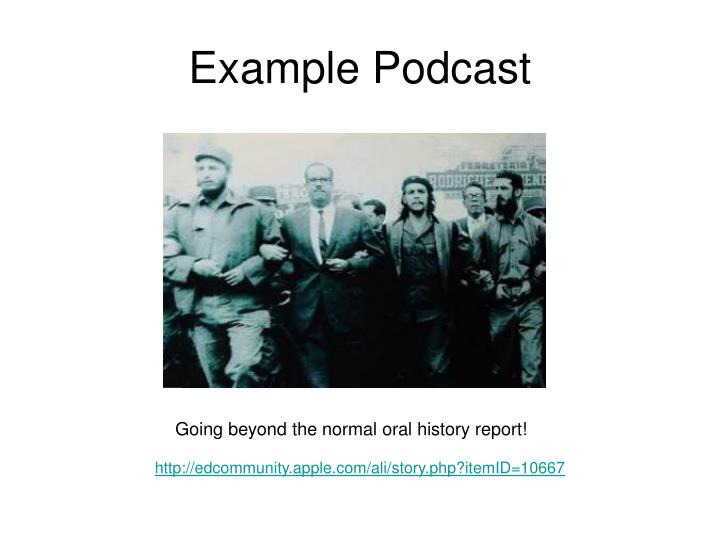 Example Podcast