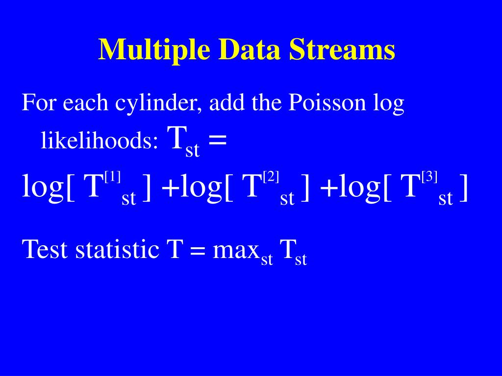 Multiple Data Streams